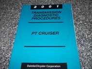 2001 Chrysler Mopar PT Cruiser Transmission Diagnostic Manual OEM 2001