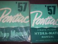 1957 Pontiac All Models Repair Service Shop Manual Set W Supplement NEW