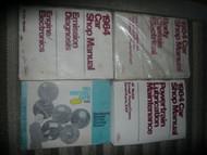 1984 FORD MUSTANG CAPRI Service Shop Repair Manual Set 84 OEM FACTORY
