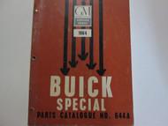 1964 BUICK SPECIAL Parts Catalog Catalogue Manual Factory OEM Book CDN RARE