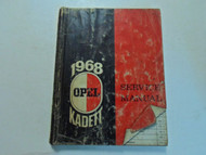 1968 OPEL KADETT Service Shop Repair Manual WATER DAMAGED FACTORY OEM BOOK 68