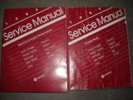 1984 Chrysler Dodge E Class New Yorker Laser Aires Service Shop Manual Set OEM