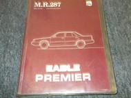 1988 Eagle Premier Service Shop Repair Workshop Manual FACTORY OEM BOOK 88