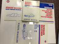 1988 Nissan Maxima Service Shop Repair Workshop Manual Set OEM W LOTS Body EWD