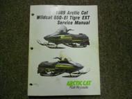 1989 ARCTIC CAT WILDCAT 650 EL TIGRE EXT Service Repair Shop Manual FACTORY x
