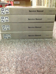 2013 Chevy Chevrolet TRAVERSE GMC ACADIA Service Shop Repair Manual SET NEW OEM
