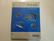 1999 Volvo Penta WT Models GM EFI Diagnostic Workshop Service Manual FACTORY OEM