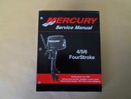 006 Mercury 4/5/6 FourStroke Service Manual 90-857138R02 OEM Boat 06