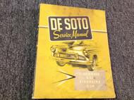 1956 Desoto Firedome Fireflite Shop Service Workshop Repair Manual NEW