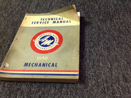 1958 AMC American Motors Mechanical Technical Service Shop Manual OEM Factory