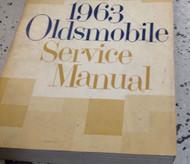 1963 Oldsmobile 442 F85 Cutlass 88 98 Service Shop Repair Workshop Manual NEW