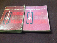 1965 Oldsmobile 442 F85 Cutlass 88 98 Service Shop Repair Workshop Manual Set