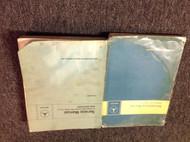 1968 1969 1970 1973 1975 114 115 Mercedes Passenger Car Service Manual Set OEM