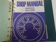 1973 Honda XL125 XL 125 Service Shop Repair Manual FACTORY OEM Book Used ***