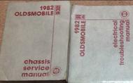1982 GM Oldsmobile Toronado Ninety Eight Delta 88 Cutlass Service Shop Manual SE
