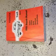 1985 Toyota TRUCK DIESEL Service Shop Repair Workshop Manual FACTORY OEM NICE
