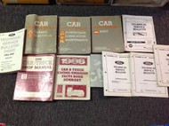 1986 Ford Mustang Capri Mark VII Cougar Thunderbird Service Shop Manual Set OEM