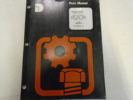 1987 Dresser D505T Engine Tractor Parts Catalog Manual Factory OEM Book Used ***