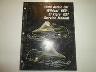 1990 Arctic Cat Wildcat 650 El Tigre EXT Service Repair Shop Manual FACTORY OEMx