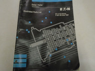 1992 Eaton Fuller RT-11715 Series Transmissions Parts Catalog OEM Used Book ***