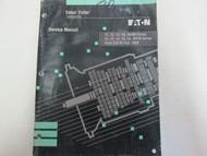 1993 Eaton Fuller Transmissions Service Manual Wrinkled STAINS OEM Book ***