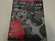 1995 Eaton Fuller RTLO-16718 Series Transmissions Parts Catalog OEM Used Book **