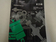 1995 Eaton Fuller RT-15715 Series Transmissions Parts Catalog OEM Used Book ***