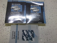 2000 Toyota Rav4 Service Shop Repair Workshop Manual Set W EWD OEM Factory