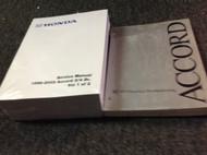 2001 2002 HONDA ACCORD Service Repair Workshop Shop Manual Set W ETM 2003