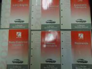 2002 GM Saturn L-Series Service Shop Repair Manual 6 Volume Set L Series