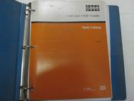 Case 1150E 1155E Crawler Parts Catalog Manual Factory OEM Book Used W Binder ***