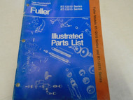 Eaton Fuller RT-12510 RT-12515 Series Transmission Parts Catalog OEM Used Book *
