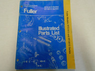 Eaton Fuller RT-913 RT-9513 Series Transmission Parts Catalog Manual Used Book *