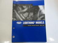 2006 Buell Lightning Models Parts Catalog Manual FACTORY OEM BOOK BRAND NEW