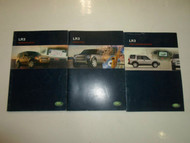 2005 Land Rover LR3 Navigation Audio Driver Info System Booklet Manual 3 VOL SET