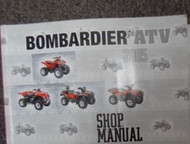 2005 BOMBARDIER RALLY ATV Shop Repair Service Manual FACTORY OEM BOOK 05 x NEW