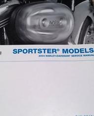 2004 Harley Davidson Sportster Service Repair Workshop Shop Manual NEW 2004