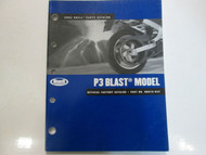 2004 Buell P3 P 3 Blast Parts Catalog Manual FACTORY OEM BOOK BRAND NEW