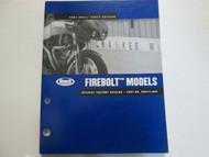 2004 Buell Firebolt Models Parts Catalog Book Manual FACTORY OEM NEW 04
