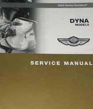 2003 HARLEY DAVIDSON DYNA MODELS Service Shop Manual NEW Factory OEM X 2003