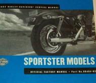 2002 Harley Davidson Sportster XLH Models Shop Repair Service Manual NEW 2002