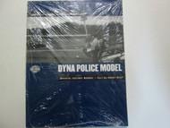 2002 Harley Davidson Dyna Police Model Service Repair Shop Manual Supplement NEW
