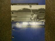 2002 Harley Davidson Dyna Police Model Parts Catalog Service Repair Shop Manual