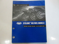 2002 Buell Cyclone M2 M2L Models Parts Catalog Manual Factory NEW Book