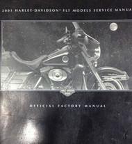 2001 Harley Davidson FLT MODELS Service Repair Shop Manual Factory x NEW