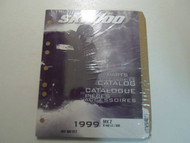 1999 Ski Doo MX Z X 440 LC 600 Parts & Accessories Catalog Manual FACTORY OEM 99