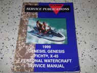 1999 Polaris WATERCRAFT GENESIS GENESIS FICHT X-45 Shop Repair Service Manual