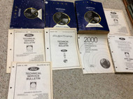 1999 FORD MUSTANG Service Shop Repair Manual Set W EWD + TECH BULLETINS BOOKS