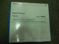 1998 99 00 2001 VW PASSAT EWD Troubleshooting Components Service Manual FINAL ED