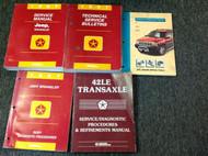 1997 Mopar Jeep WRANGLER Service Shop Repair Manual FACTORY BOOK SET W LOTS